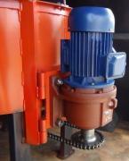 Бетоносмеситель для принудительного перемешивания бетона 150л